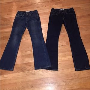 Lot of 2 518 Superlow Levi's Jeans